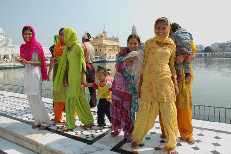 Family in Amritsar