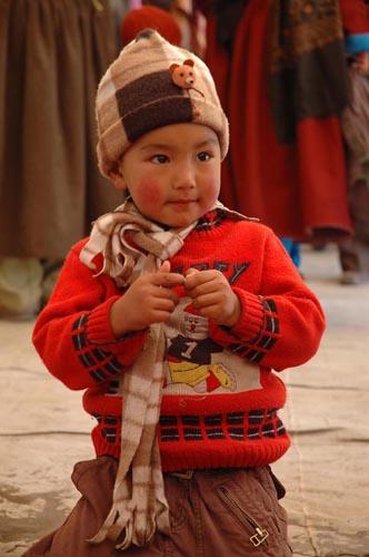Young Boy in Ladakh