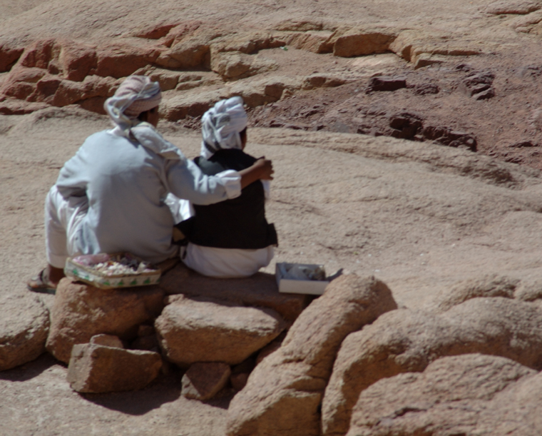 Young Bedouins in Egypt