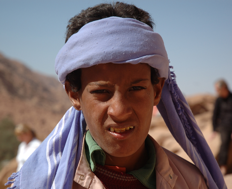 Young Bedouin in Egypt
